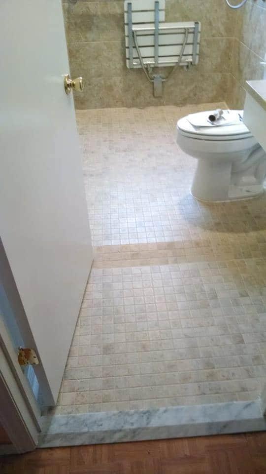 Bathroom Upfit for Handicap Access