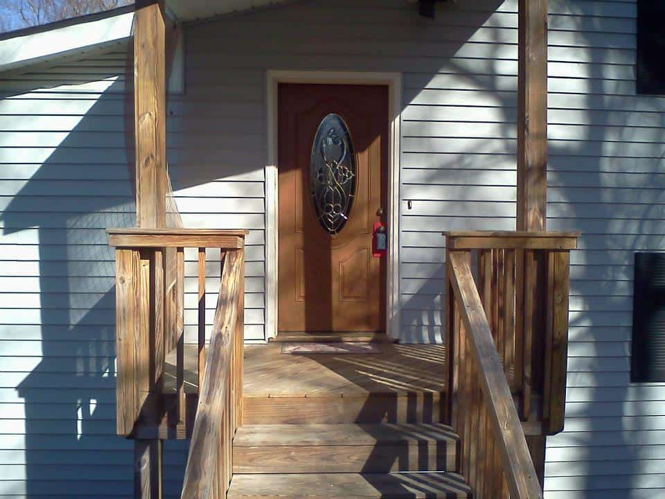 Entry Deck and Front Door Replacement