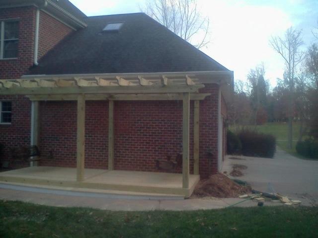 Custom Deck Construction -  Concord, North Carolina - A N J Construction