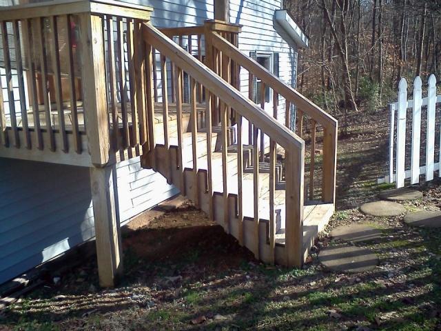 Custom Deck Builder -  Concord, North Carolina - A N J Construction
