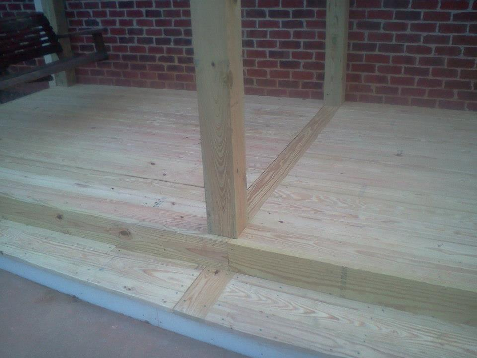 Deck with Pergola - A n J Construction