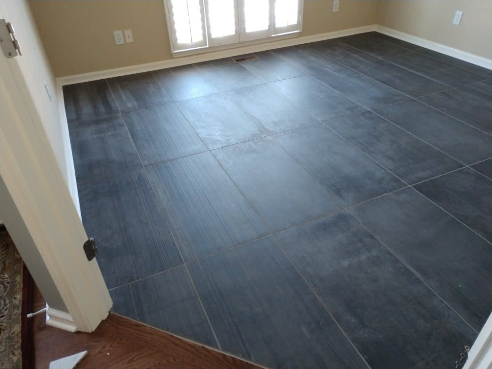New Office Flooring - A n J Construction
