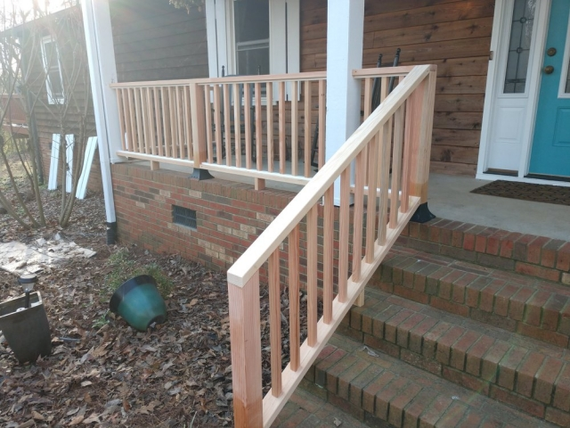 Porch Railing - A n J Construction