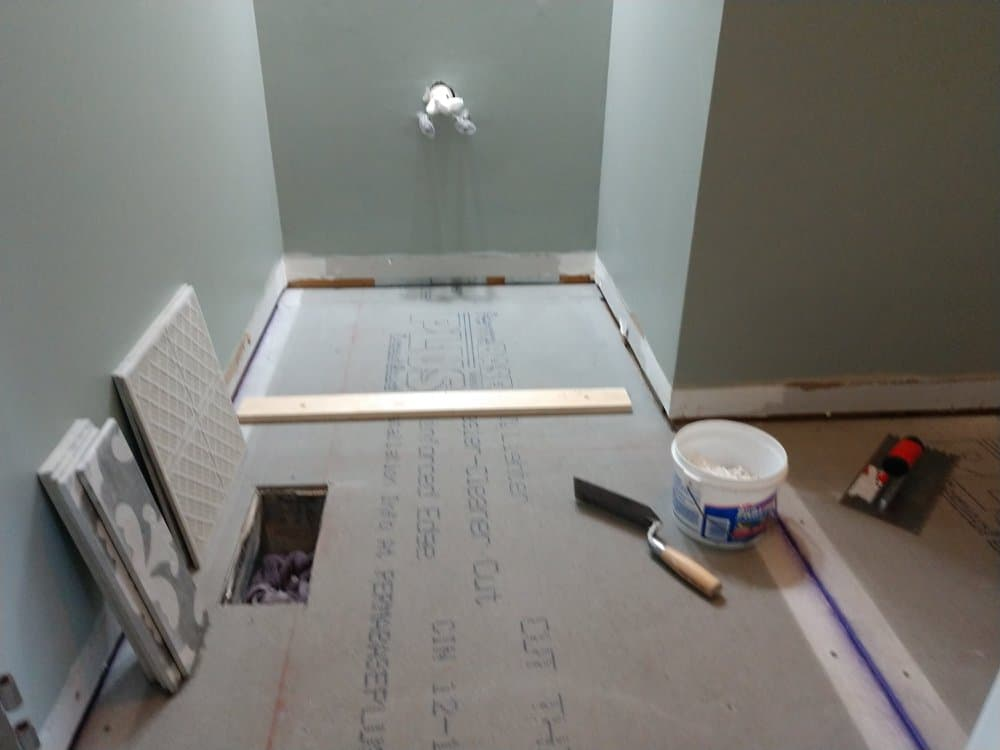 A n J Construction Bathroom Remodel