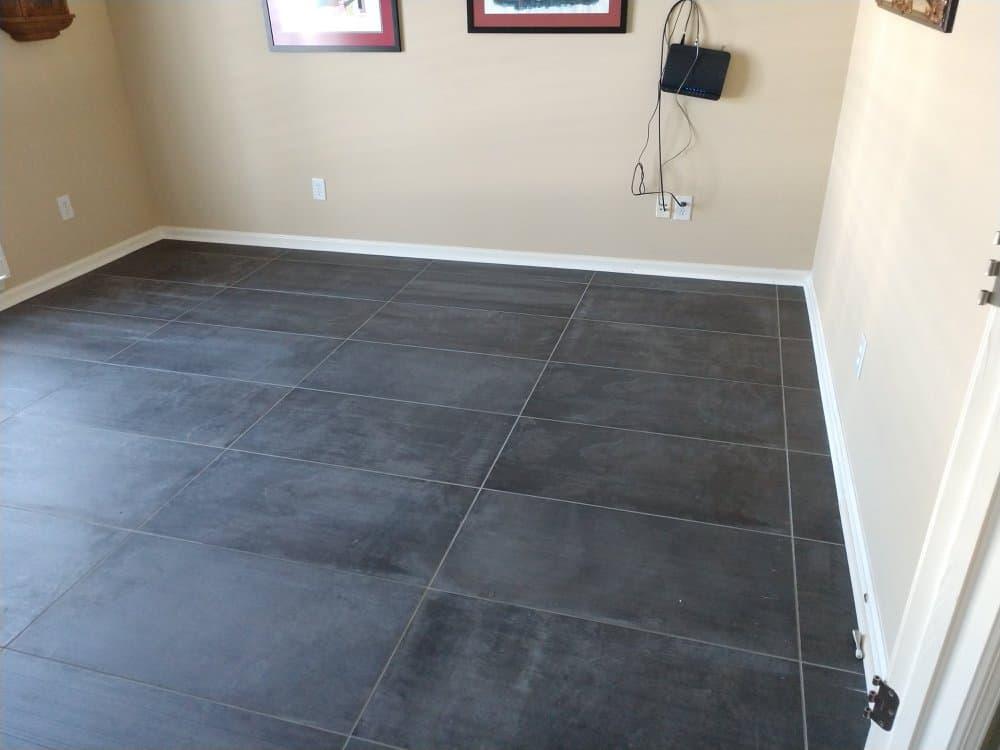 New Office Flooring - A n J Construction