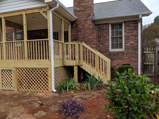 A N J Construction - Harrisburg, North Carolina - Porch Construction